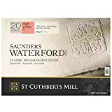 High White Saunders Waterford Block 300gsm 228 x