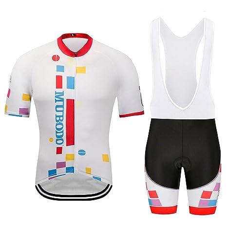 TtKj Conjunto Ropa Equipacion Traje Ciclismo Hombre para ...