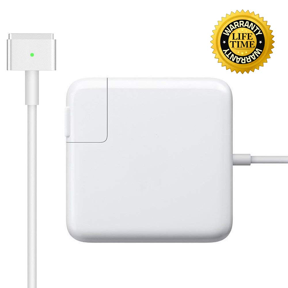 Mac-Book Air Charger 45W Magsafe 2 Power Adapter Magnetic T-Tip Replacement Charger for MacBook Air 11 inch and 13 inch (After Mid 2012) by DODAUG (Image #1)
