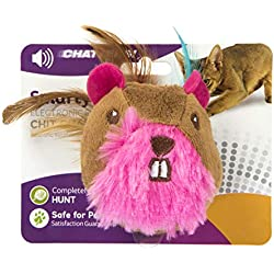 SmartyKat Chit Chatter Touch-Activated Sound E-Toy for Cats