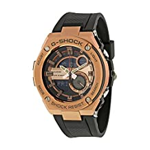 CASIO'S G-SHOCK GST-210B-4A ( gold )