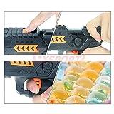 EXSPORT Foam Dart Gun with 2000PCS Water Polymer Balls and 6 PCS Soft EVA Bomb for Kids Hand Gun Toy