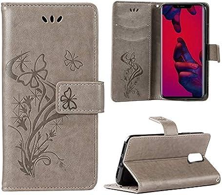 DAYNEW Funda para Huawei Mate 20 Pro,Butterfly Diseño ...