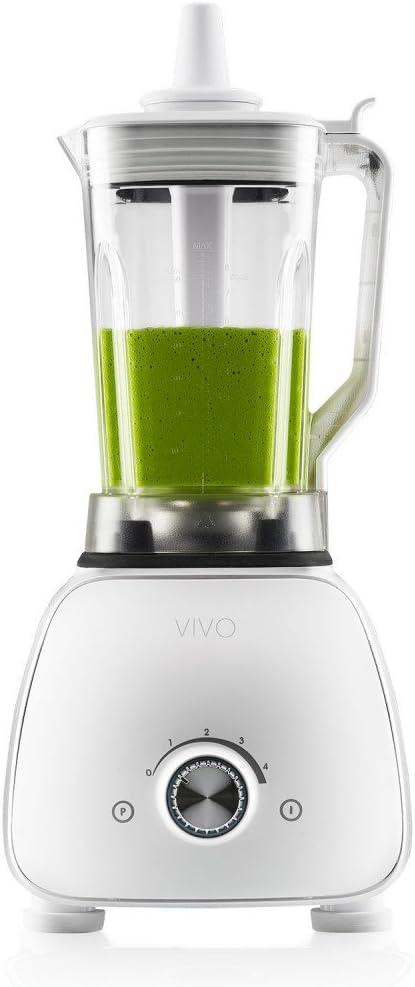 Clase Italia VIVO Batidora Profesional, 1800 W, 2 litros, Tritan de alta resistenza-senza BPA, Color blanco: Amazon.es: Hogar