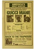 Gucci Mane Poster Back To The Traphouse