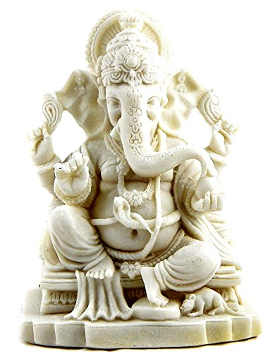Blessing Ganesha Sri Ganesh Beautiful Statues Hindu Altar Puja Aarti>