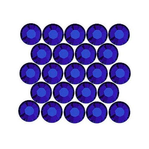 SWAROVSKI ELEMENTS Flatback Crystal Rhinestones #2028 SS9 Cobalt -