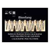 calligraphy practice pad - Bienfang 9 x 12 Inches Calligraphic Practice Paper Pad (R400145)