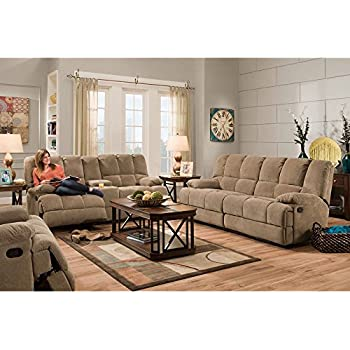 Cambridge Penn Three Piece Set: Sofa, Loveseat, Recliner Living Room  Furniture Sets Part 17