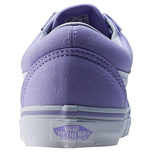 Lavender White Cuero Zapatillas True de Vans Hombre wfOAxqIzz