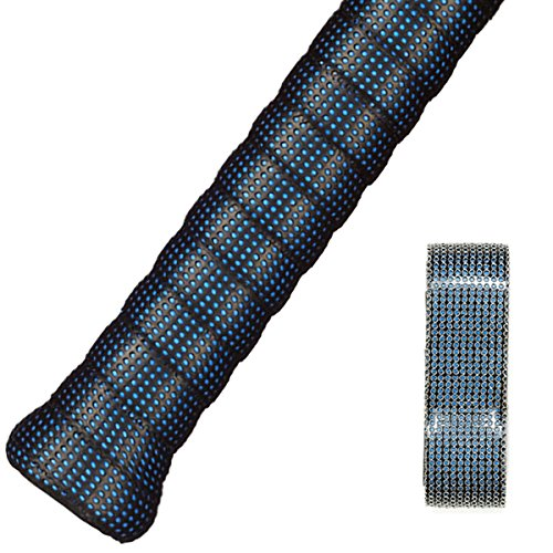 FJZ Perforated Super Absorbent and Anti-Slip Racket Grip for Tennis Overgrip,Badminton Overgrip,Squash Rackets,Fishing Poles,Racket Bike Bar and More – DiZiSports Store