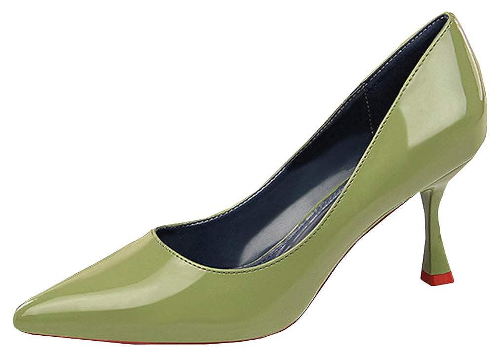 SHOWHOW  - Damen Pumps Grün - grün -  Größe  36 c980c8