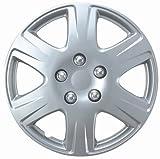 Drive Accessories KT-993-15S/L, Toyota Corolla, 15' Silver Replica Wheel Cover, (Set of 4)