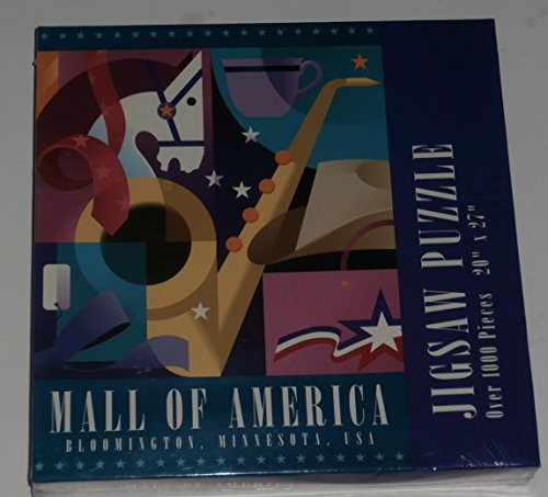 Mall of America, Bloomington, Minnesota Jigsaw Puzzle 1000 - Bloomington Mall