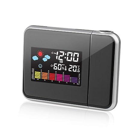 Amazon.com: Reloj despertador digital con pantalla LCD y luz ...