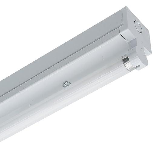Nvc single t8 hpf fluorescent batten strip light fitting white nvc single t8 hpf fluorescent batten strip light fitting white aloadofball Gallery