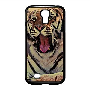 Tiger Yawning On The Rock Watercolor style Cover Samsung Galaxy Note3 (Wild Watercolor style Samsung Galaxy Note3 Kimberly Kurzendoerfer