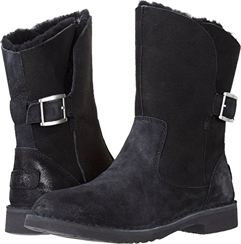UGG Womens Jannika Boot Black Size 7