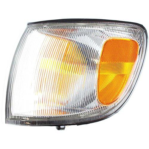 (Corner Light Compatible with Toyota Sienna 98-00 Corner Lamp LH Assembly Left Side)