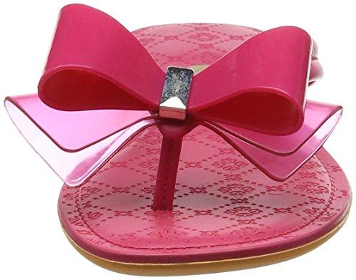 Grendha Women's Sense Bow Thong Open Toe Sandals Pink (Cerise) 9jC2v