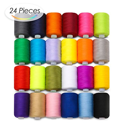 KINGSO Assorted Colors Polyester Sewing