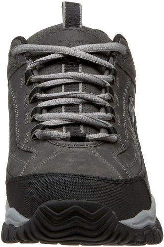 Skechers Soft Stride Hommes US 7.5 Gris Large Chaussures de Travail