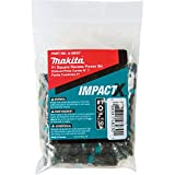 Makita A-99007 Impactx #1 Square Recess 2″ Power Bit, 50 Pack, Bulk