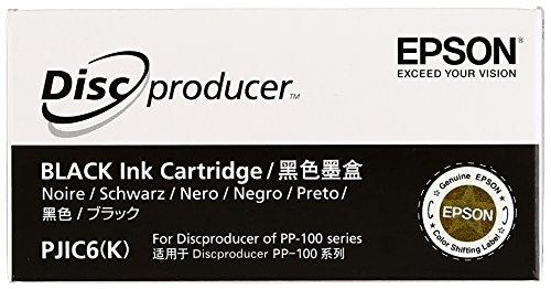 Epson PJIC6 Black Ink Cartridge for PP-100 C13S020452