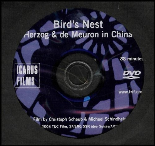 Bird's Nest: Herzog and de Meuron in China (Documentary of the Architectural Design Behind the Beijing Olympic National Stadium) [German/Deutsch with English Subtitles] (USA/Canada Region 1 Format)