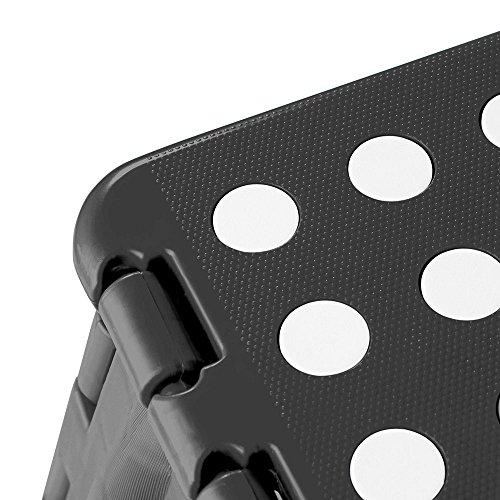 Acko Black 18 Inches Non Slip Folding Step Stool for Kids and Adults with Handle by Acko (Image #4)