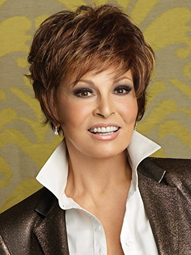 Sparkle Memory Cap Capless Wig by Raquel Welch Shag Style Color R9S by Raquel Welch