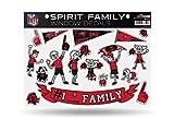 NFL Tampa Bay Buccaneers Spirit Family Window Decals