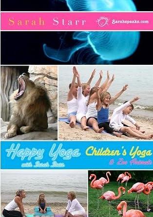 Amazon.com: Happy Yogas_Childrens Yoga & Zoo Animals ...