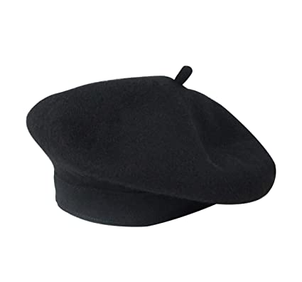 e9eff0d0cd96e YouGa Beret Hats for Women French Wool Berets Classic Solid Color Ladies  Beret Hat