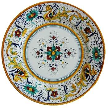 Amazoncom Fima Deruta Raffaellesco Hand Painted Italian Ceramic
