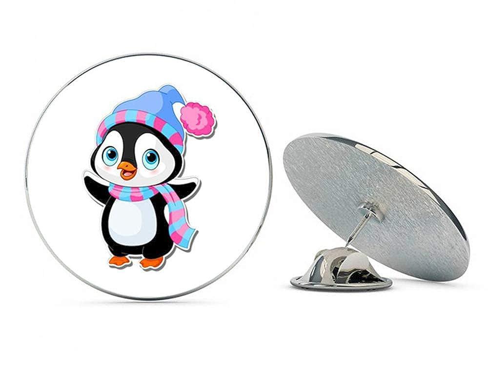 NYC Jewelers Cute Penguin Metal 0.75' Lapel Hat Pin Tie Tack Pinback
