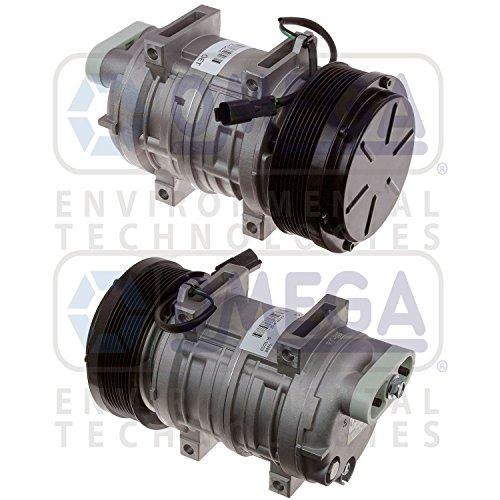 AC A/C Compressor HP210 W/8 Grooves 135mm 24V Replaces: Caterpillar 217-4448 - A/c Compressor Clutch Cover