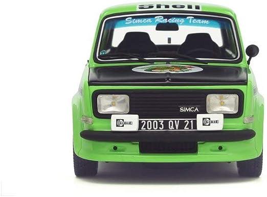 SIMCA RALLYE 2 SRT KR-année de fabrication 1977-Vert Noir 1:18 ottomobile OT 667
