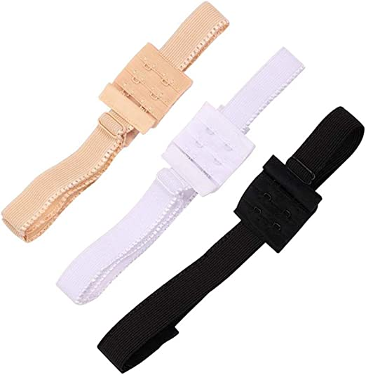 1 pcs from  3 Colour Low Back Backless Bra Strap Adjustable Converter bra strap