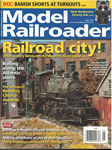 Model Railroader Magazine May 2019 ()