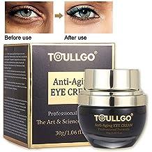 Eye Cream Anti Aging, Eye Cream Moisturizer, Eye Gel for Dark Circles, Puffiness, Wrinkles, Bags