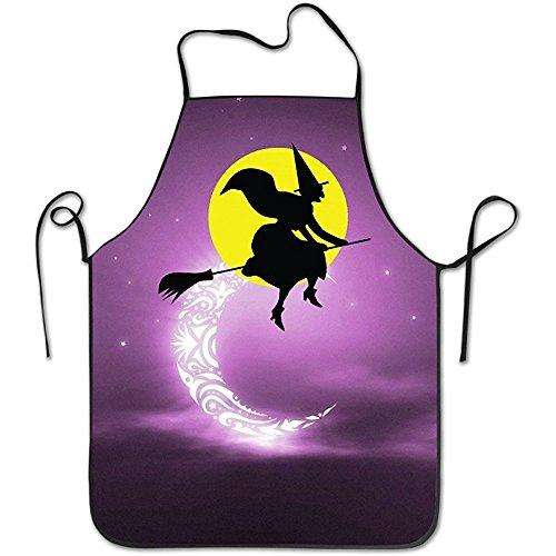 Halloween Witch Kitchen Apron Convenient (Kitchen Apron Witch)