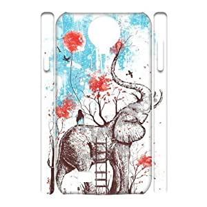 Elephant Brand New 3D Cover Case for SamSung Galaxy S4 I9500,diy case cover ygtg525852