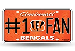 Rico NFL Number One Fan License Plates