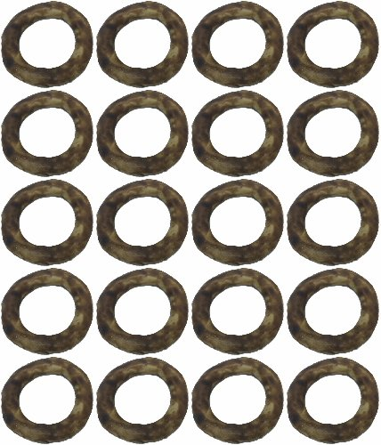 Red Barn Pet Products Chew-A-Bulls Ring Beef 20ct (20 x (Red Barn Bully Rings)