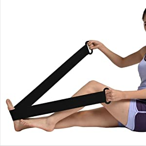 Ober Ankle Training Belt Ankle Foot Drop Correction Achilles Tendon Rupture Elastic Rehabilitation Training Elastic Band Strap