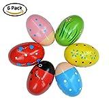 best seller today Bondream Set of 6 Lovely Pattern Egg...