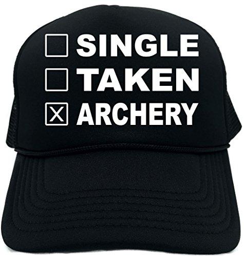 e87dcb21cf3cc Signature Depot Funny Trucker Hat (Single Taken Archery (Sports) Unisex  Adult Foam Cap