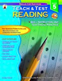 Reading Teach and Test 5, Jean Wolff, 0887247776