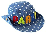 Kids Short Brim Sun Protection Fisherman Hats Summer Play Hat with Side Buttons